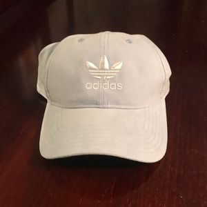 Adidas light blue hat